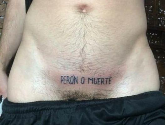 El tatuaje de Walter Vuoto